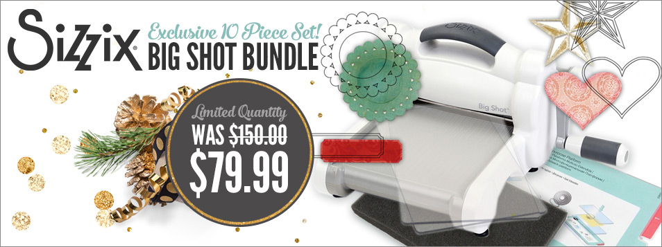 Sizzix Big Shot Kit - Bundle ON SALE