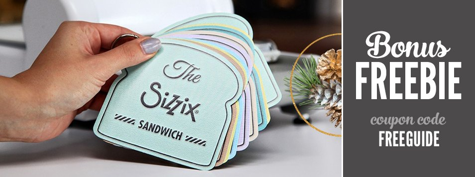 Slider FREE guide Sizzix Booklet
