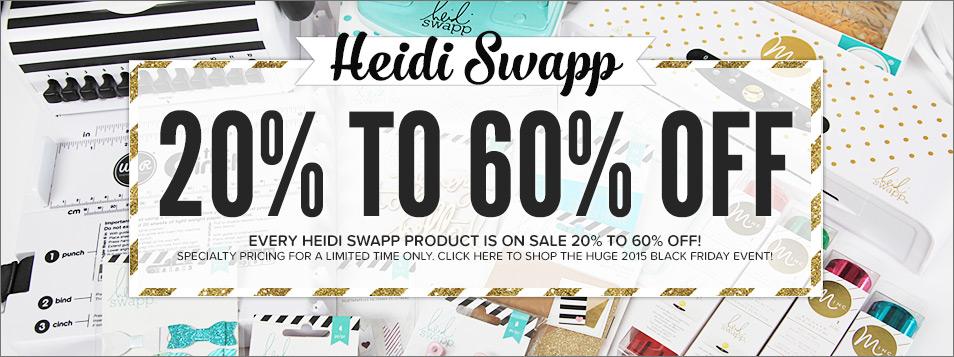 Black Friday Heidi Swapp BRAND