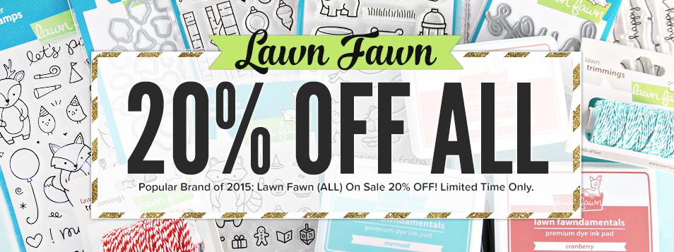 Lawn Fawn - BlackFriday Weekend 2015