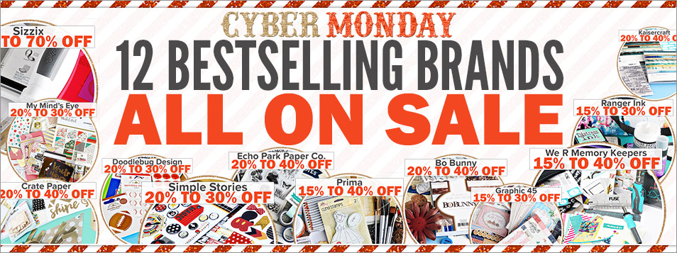 Cyber Monday ALL BRANDS