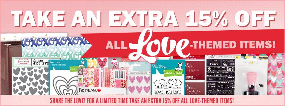 Extra 15% off Love Theme