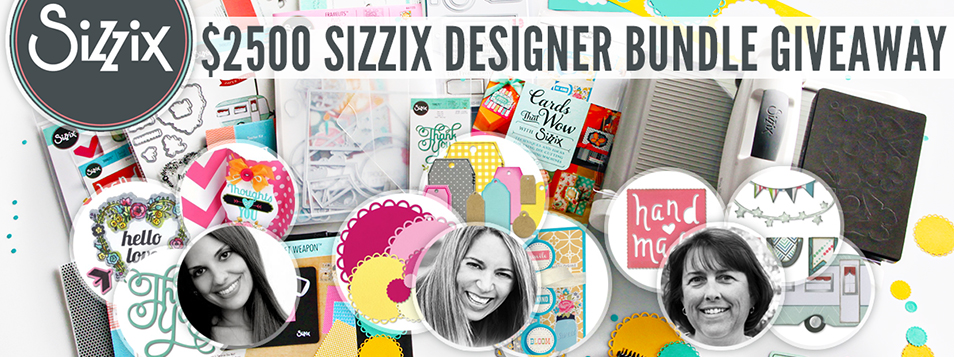 Sizzix Gleam Giveaway - MAY promotion