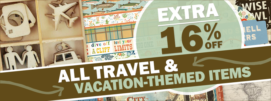 EXTRA 16% off vacation and travel