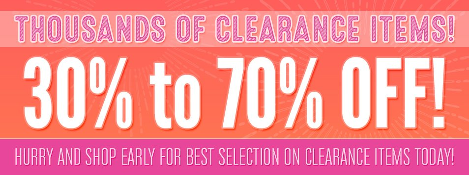 Clearance July August 2016
