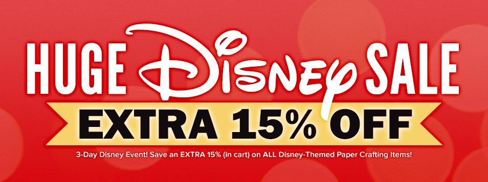 15% Off Disney
