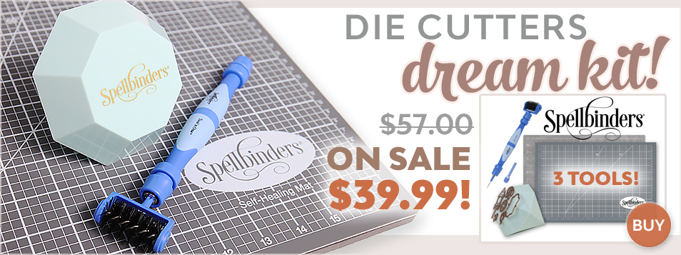 Spellbinders Die Cutters Dream Kit