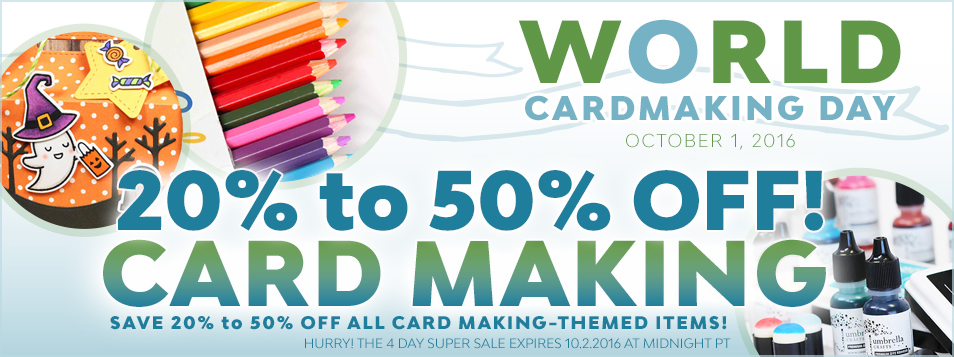 World Card Making Day 2016