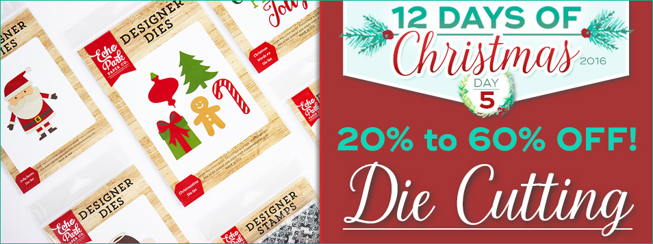 12 Days All Diecutting is On Sale!