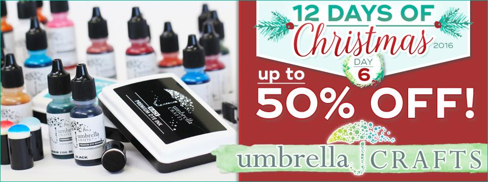 12 Days All Umbrella Crafts - Basics/Staples on Sale!
