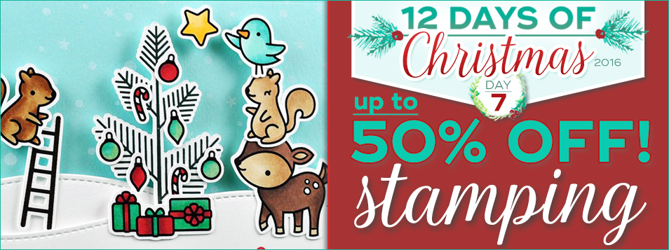 12 Days 2016 ALL stamping is on sale!
