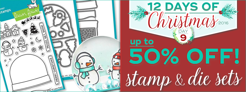 12 Days All Stamps and Dies are on Sale!