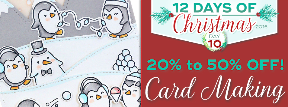12 Days All Cardmaking On Sale today!