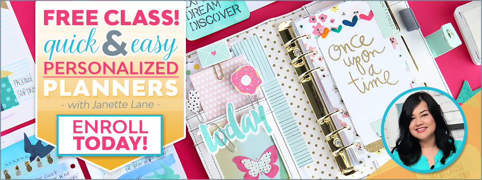 EASY Planner decorating class by janette lane