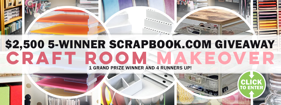 2017 Craft Room Makeover Giveaway