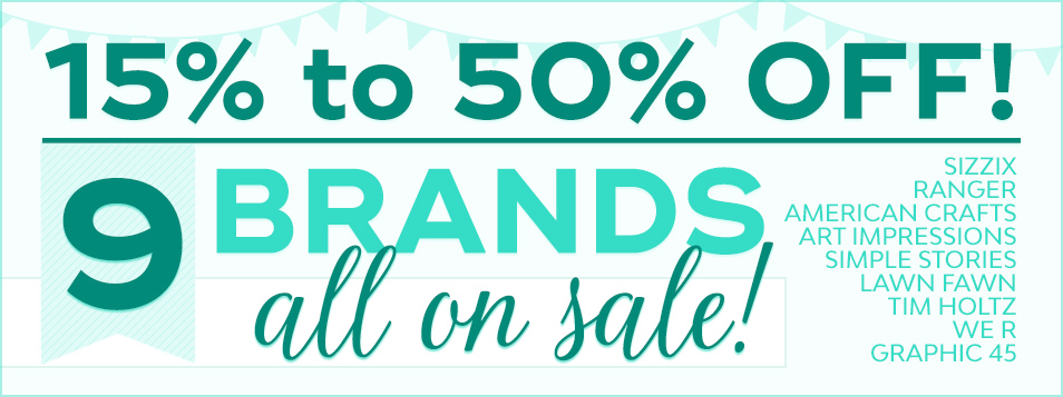 9 Brands Sale February 2017