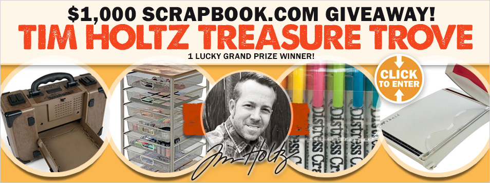 Tim Holtz Giveaway - Treasure Trove 1000