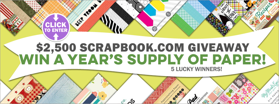 $2,500 Win a Year Supply of Paper - Slider 1