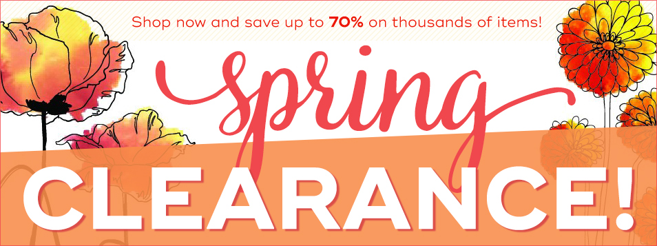 Spring Clearance March 2017