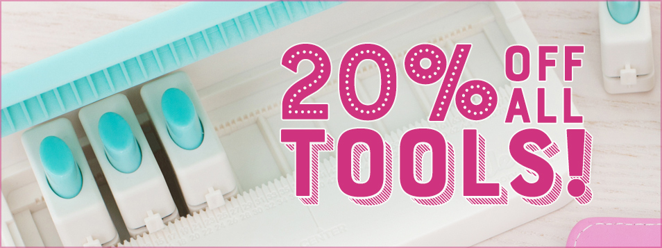 20 off TOOLS April 2017