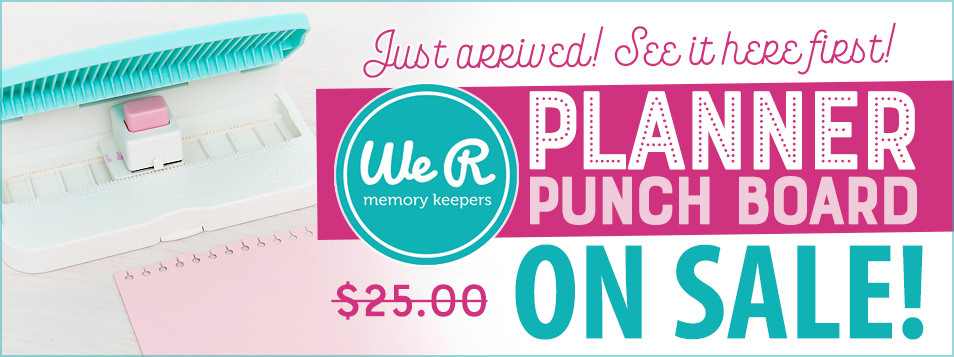 Slider Planner Punch ON SALE NEW
