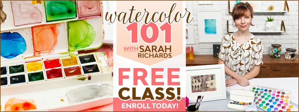 Sarah Watercolor Basics Class