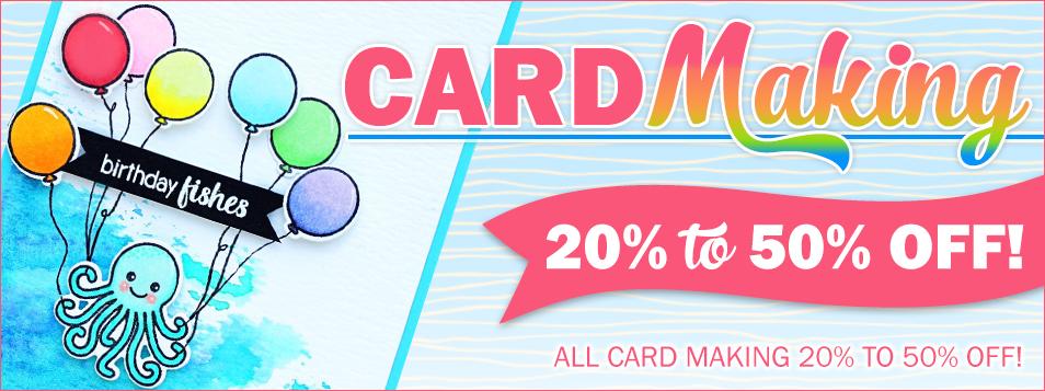 cardmaking sale