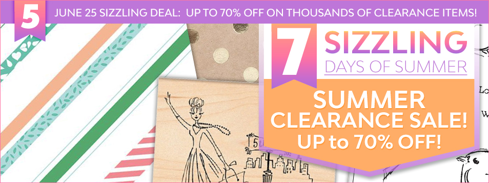 Sizzling Day 5 Clearance