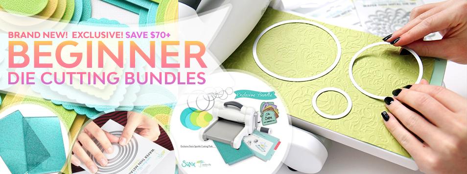 Exclusive Bundles Sizzix Umbrella Crafts NEW