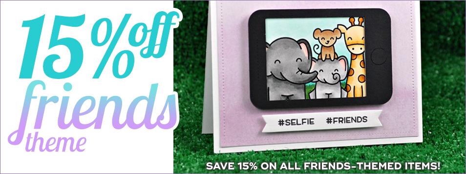 15% off Friends Theme