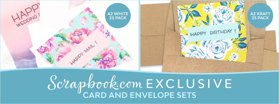 Scrapbook.com Exclusive Card and Envelope Sets