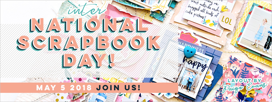 National Scrapbook Day 2018