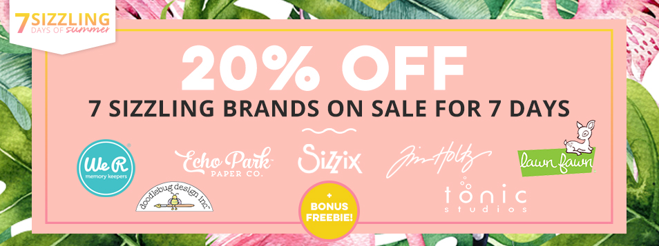 Sizzling Days 1 - 7 Brands on sale