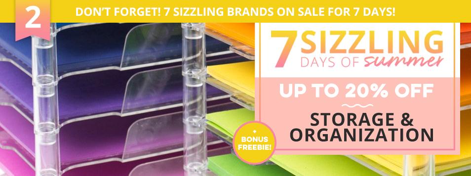 Sizzling Days 2 - Storage Sale