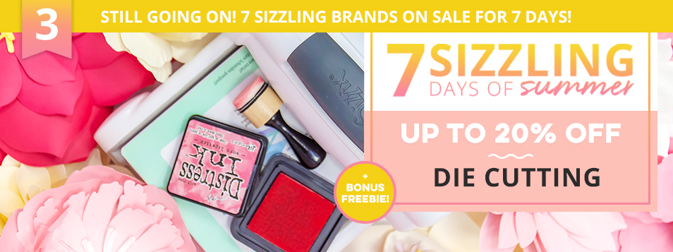 Sizzling Days 3 - Die Cutting Sale