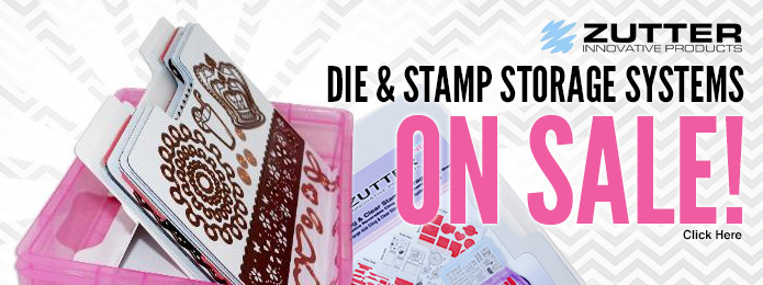 Zutter Magnetic Die & Cling Stamp Storage System