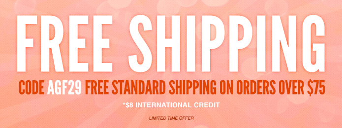Free Standard Shipping on Any $75 Order - 3 Days Only