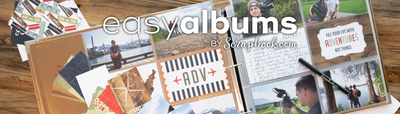 Easy Album Scrapbook Kits - Only Available Here